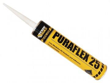 Industrial Puraflex 25 Sealant Black 300ml